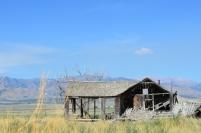 Obsolete house in the desert.