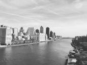 Manhattan skyline from the Tram