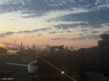 Newark Airport at 6am. 2016 Summer